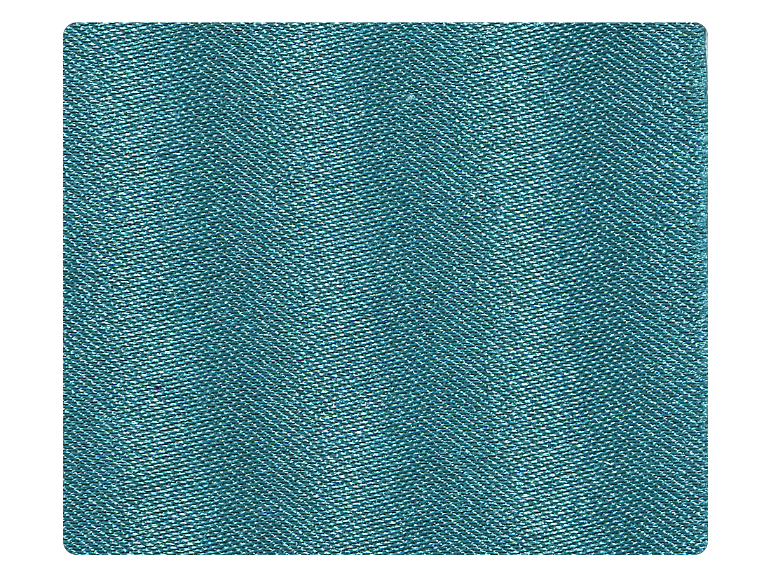 267 Blue Satin Fabric Swatch