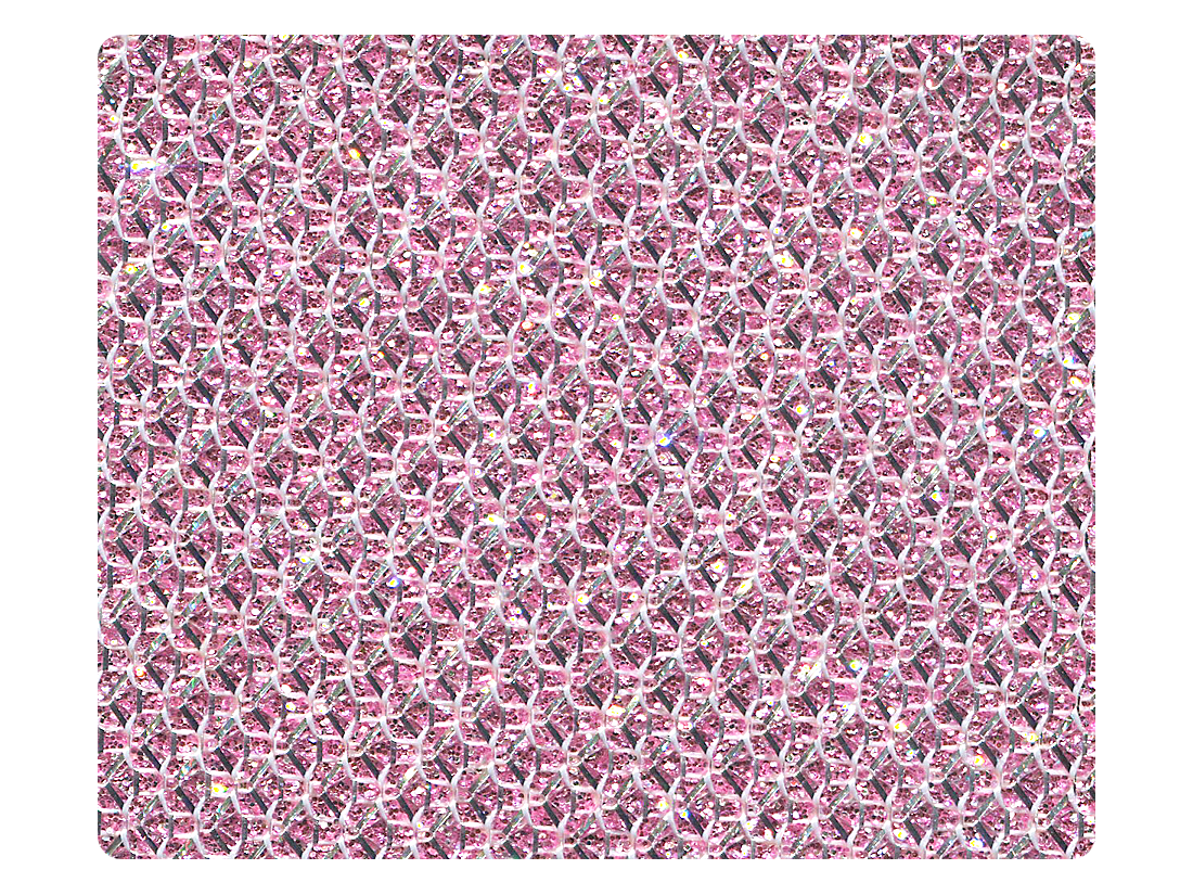 272 Light Pink Glitter Fabric Swatch