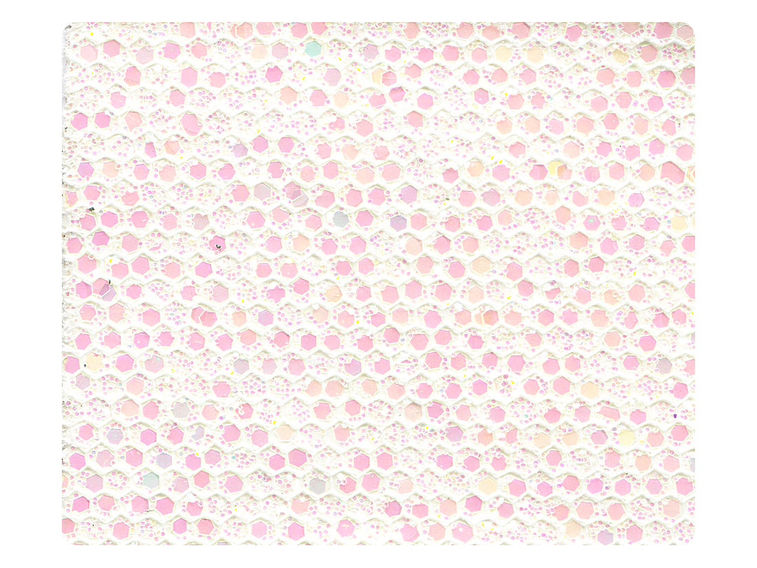 278 White Scale Fabric Swatch