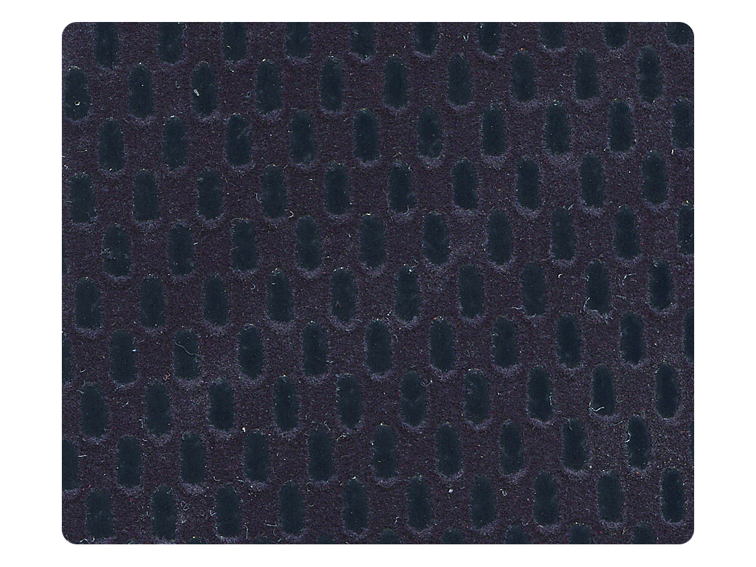 296 Dark Blue Velvet Fabric Swatch