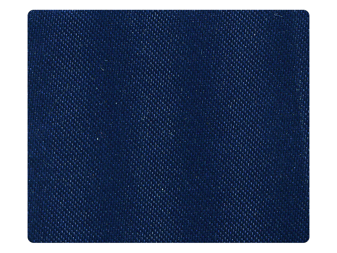 301 Blue Satin Fabric Swatch