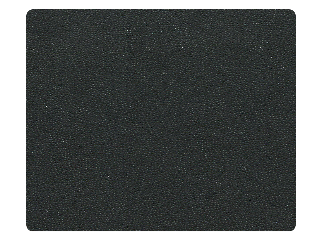110 Matte Black Leather