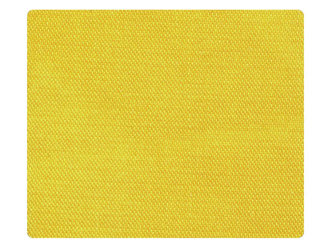121 Yellow Satin Fabric Swatch
