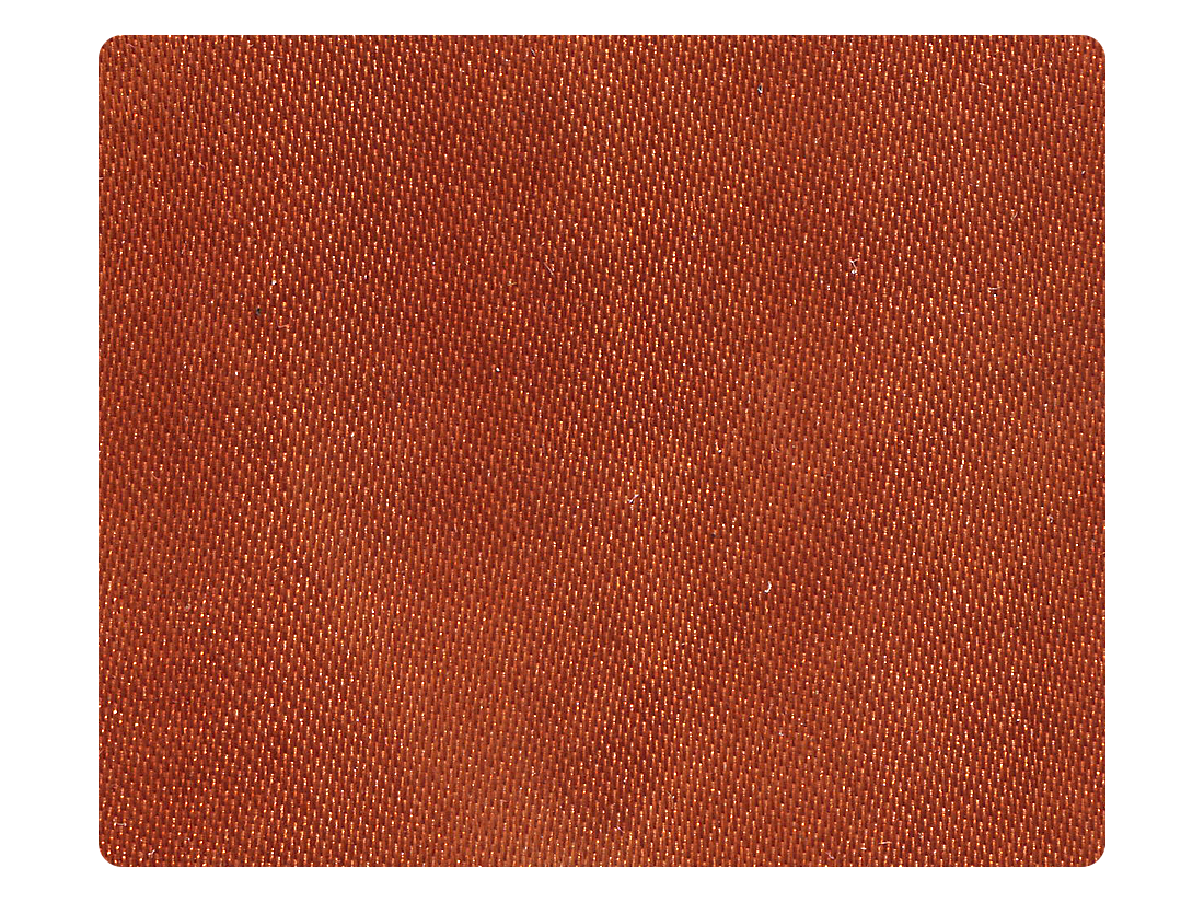 159 Orange Tan Satin Fabric Swatch