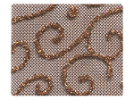 162 Copper Vine Mesh -Stiletto
