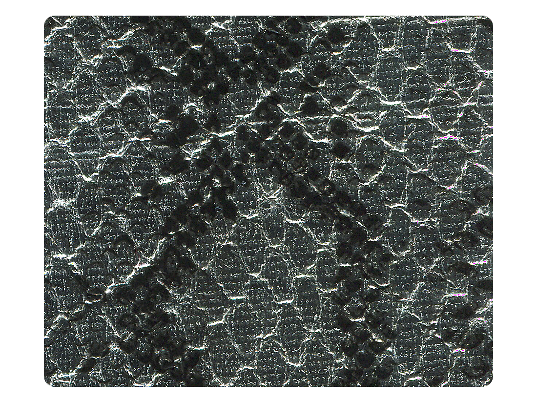 181 Silver Snake PU Fabric Swatch