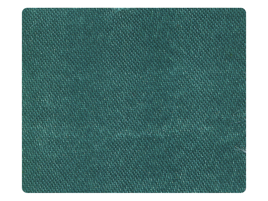78 Teal Satin Fabric Swatch