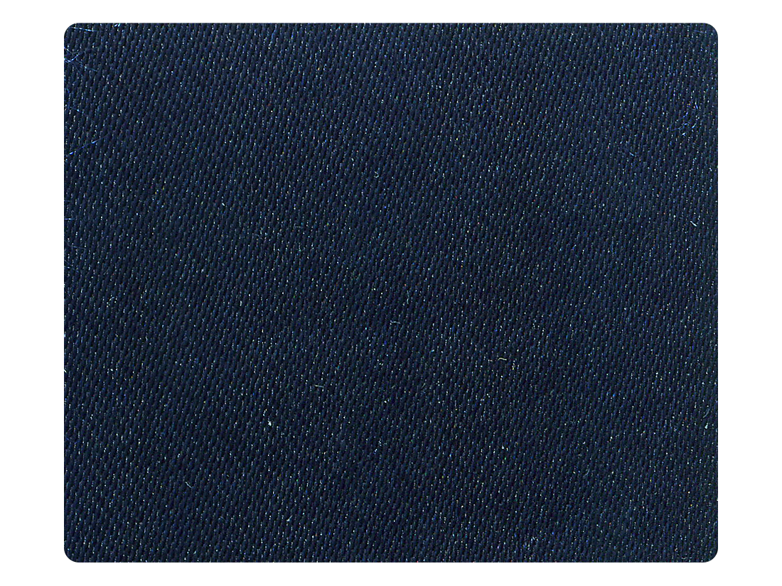 85 Dark Blue Satin Fabric Swatch