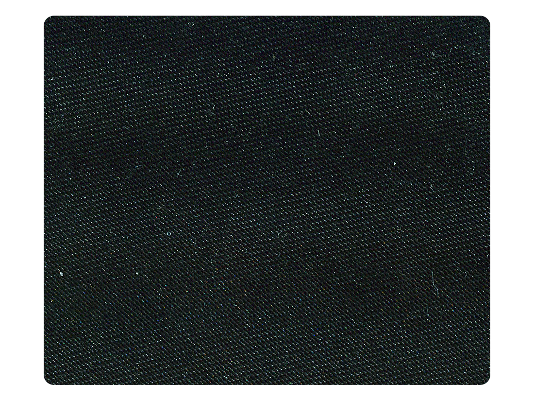 86 Black Satin Fabric Swatch