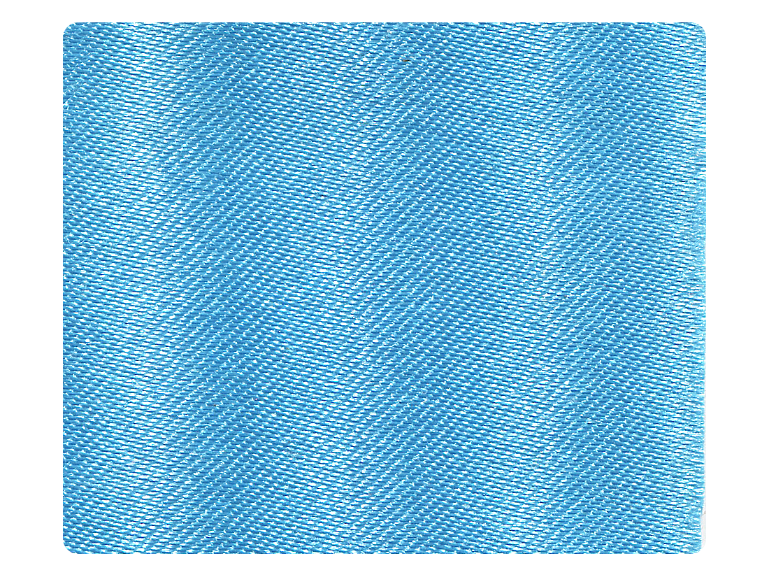 95 Light Blue Satin Fabric Swatch