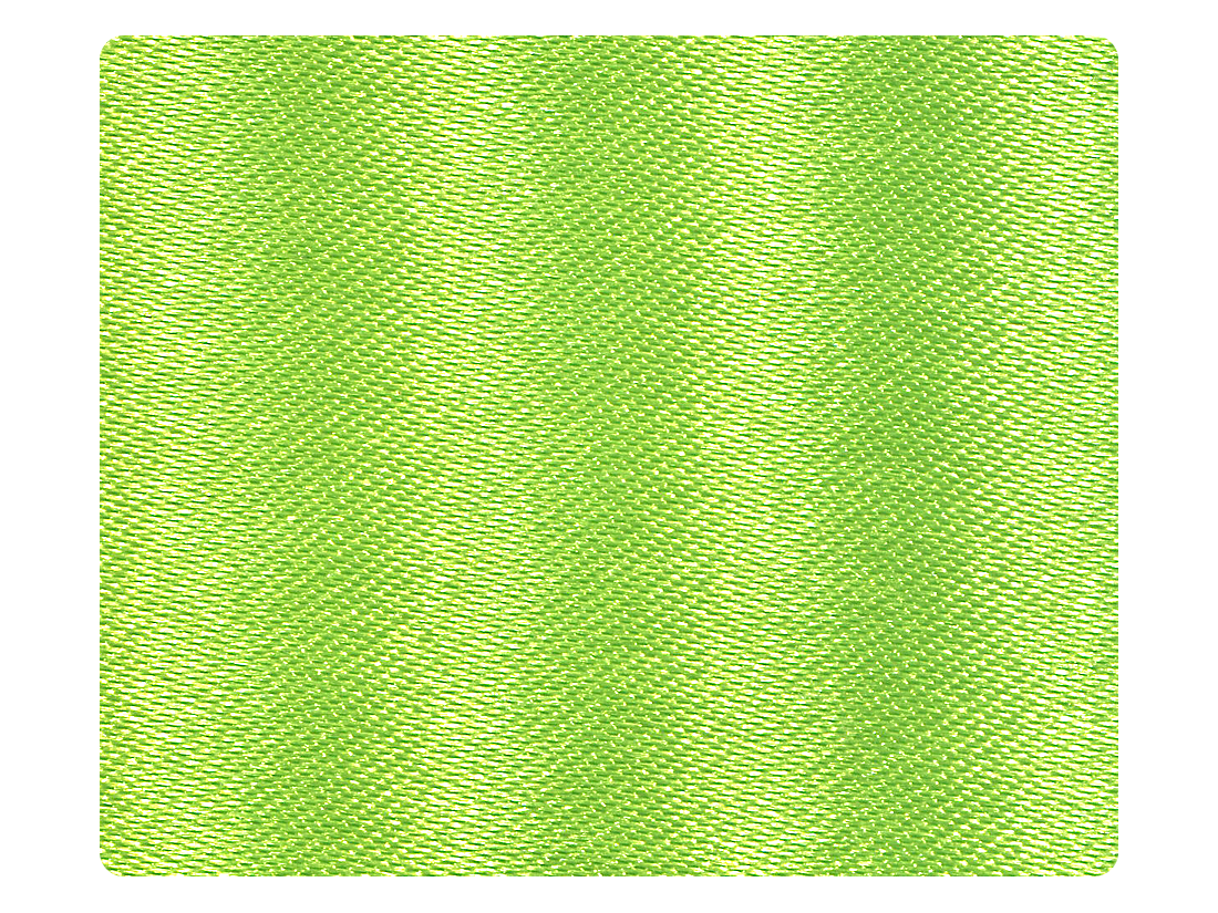 137 Green Satin Fabric Swatch