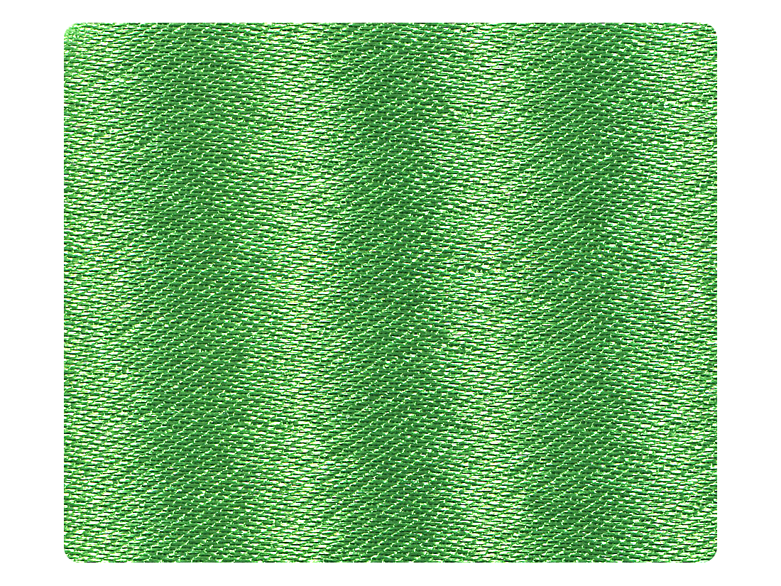 138 Dark Green Satin Fabric Swatch
