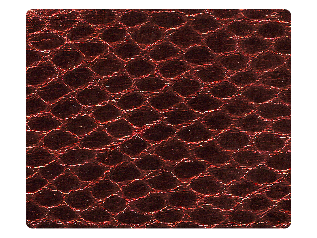 195 Snake Red Fabric Swatch
