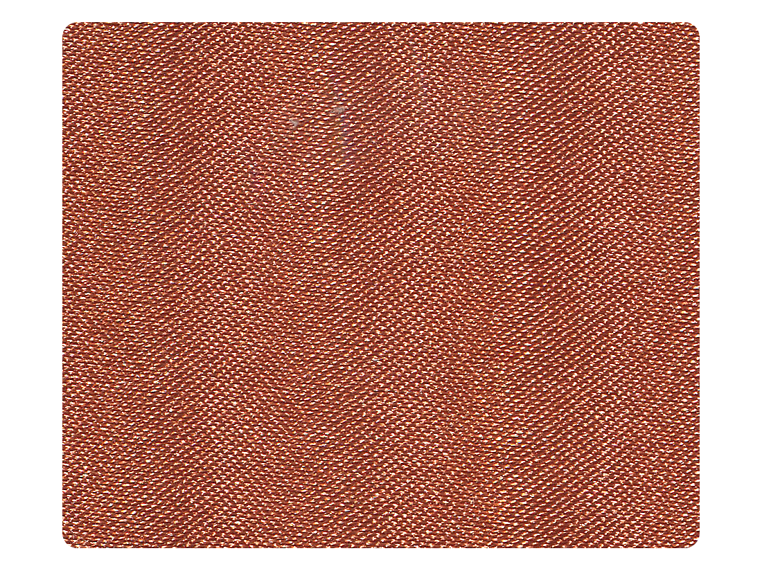 210 Dark Tan Satin Fabric Swatch