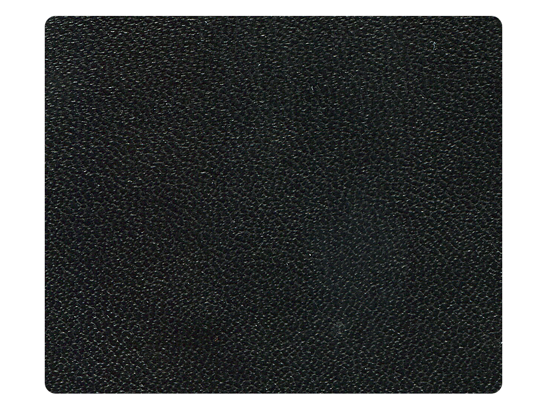 216 Black Leather (Microfiber) Fabric Swatch