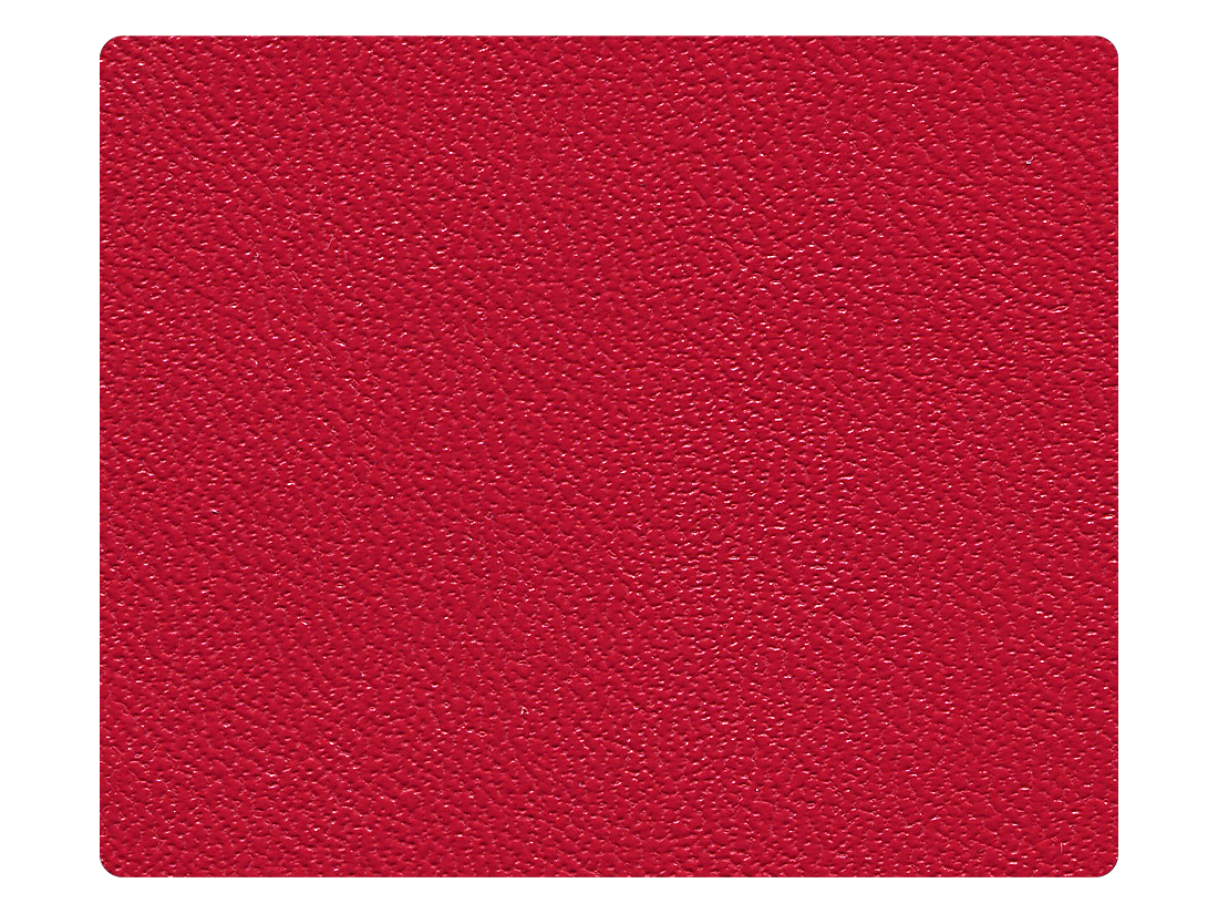 217 Red Leather (Microfiber) Fabric Swatch
