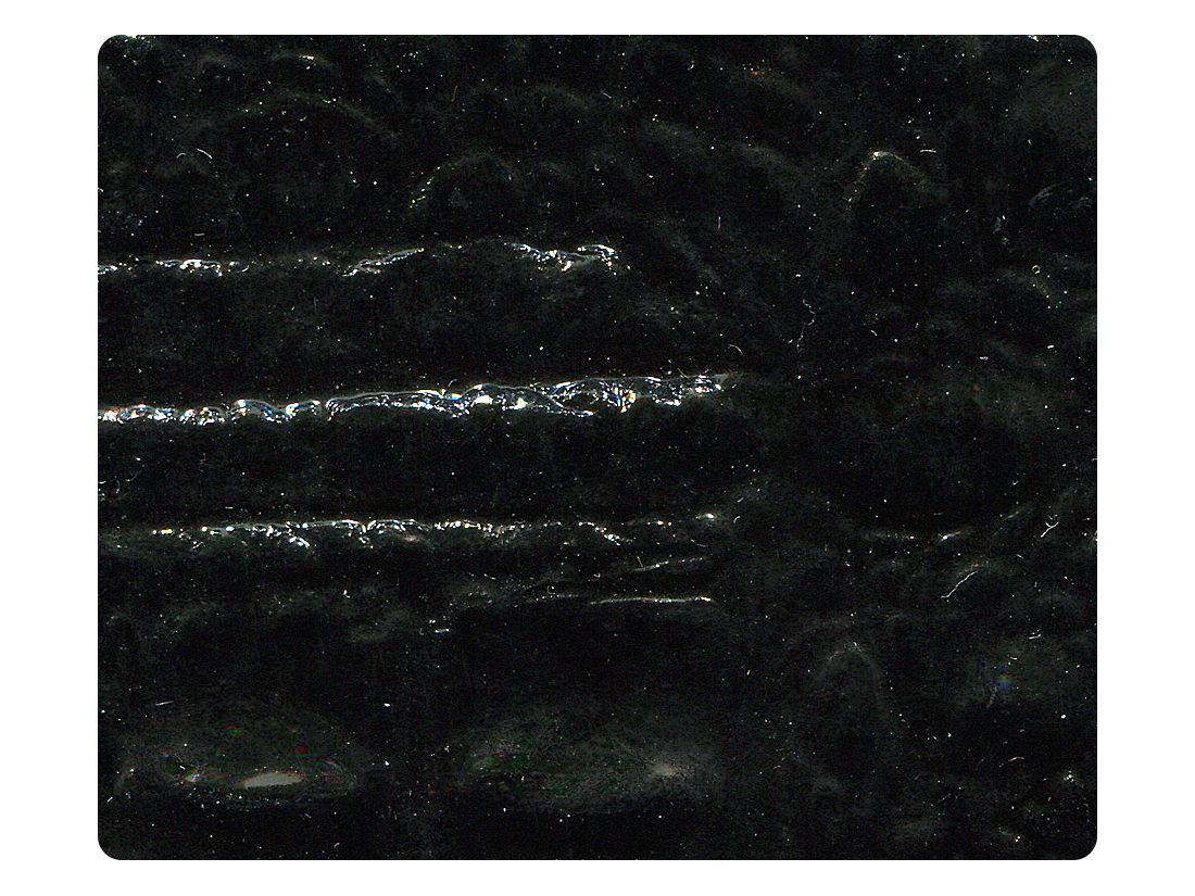 233 Black Crocodile Fabric Swatch