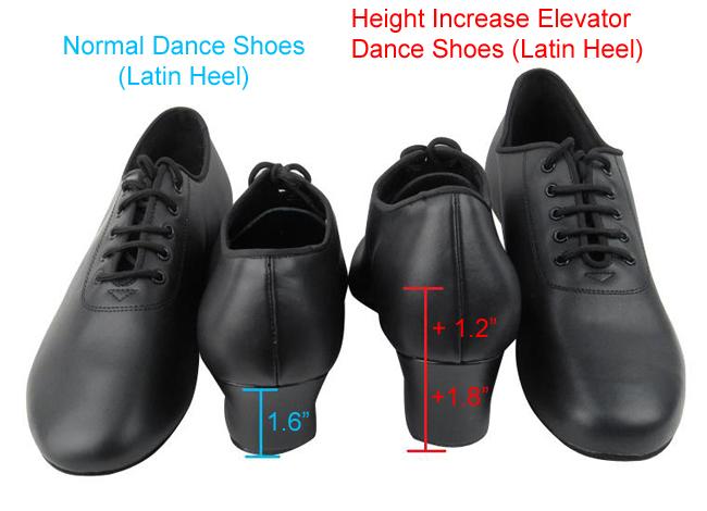 2dd0ab582ecc Height Increase Elevator Dance Shoes