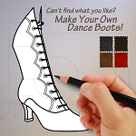 Make Your Own Ladies Dance Boots