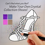 Make Your Own Crystal Collection Shoes
