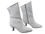 VFBoot PP205A Ankle Bootie White Leather