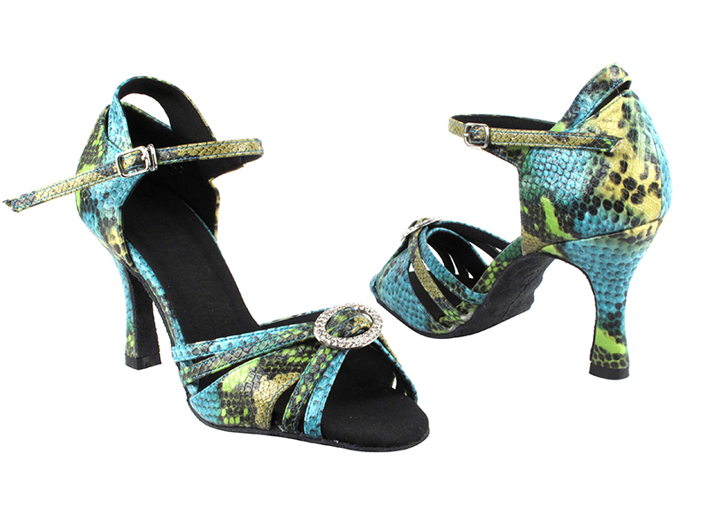 SERA1154 Blue & Green Snake with 3
