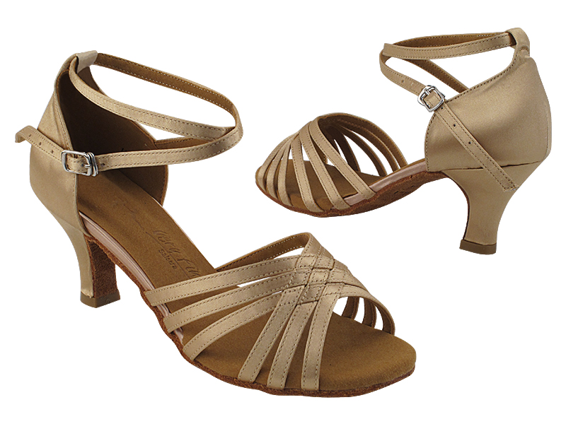 SERA3693 Light Brown Satin with (2040) 2.5