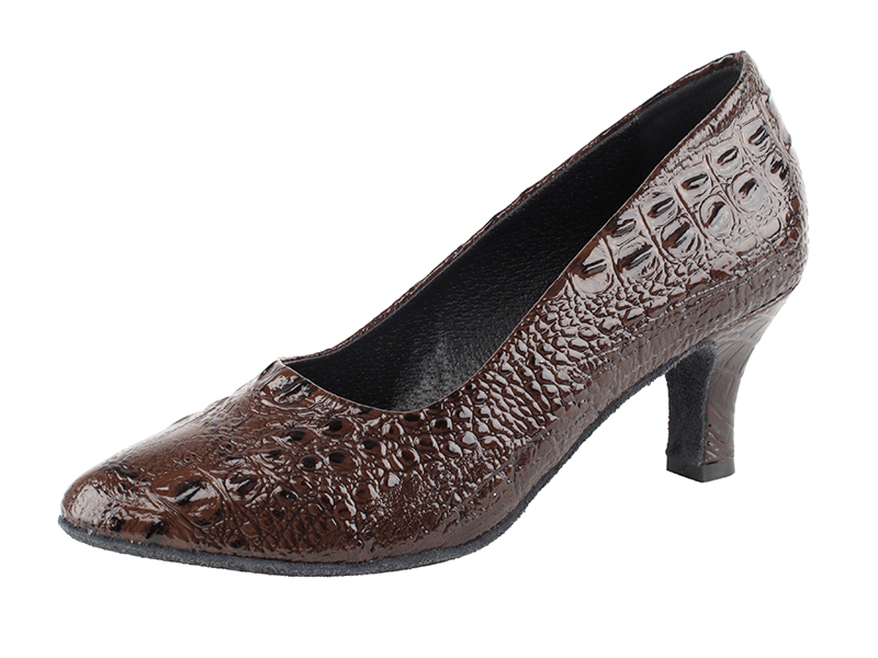 SERA5513 Coffee Brown Croc with 2.5