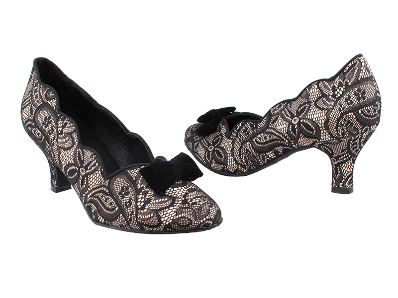 SERA5515 Flesh & Black Lace with 2.5