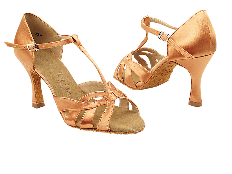 SERA7033 Tan Satin with 3