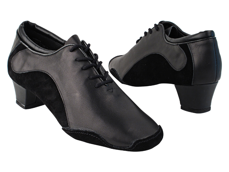 SERA703BBX Black Leather & Black Suede with 1.5