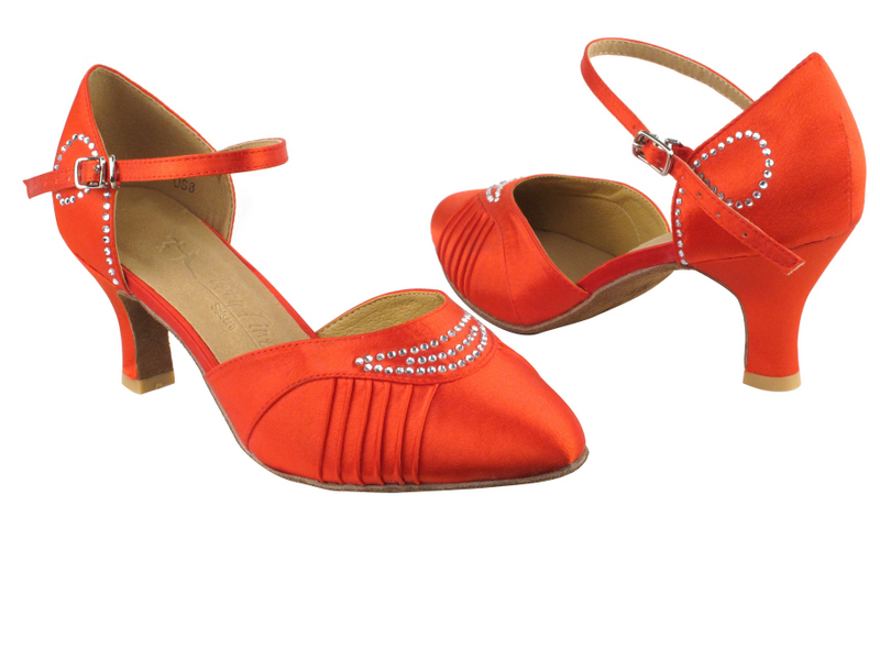 SERA1397 Red Satin with 2.5