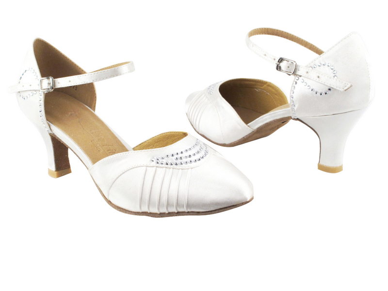 SERA1397 White Satin with 2.5
