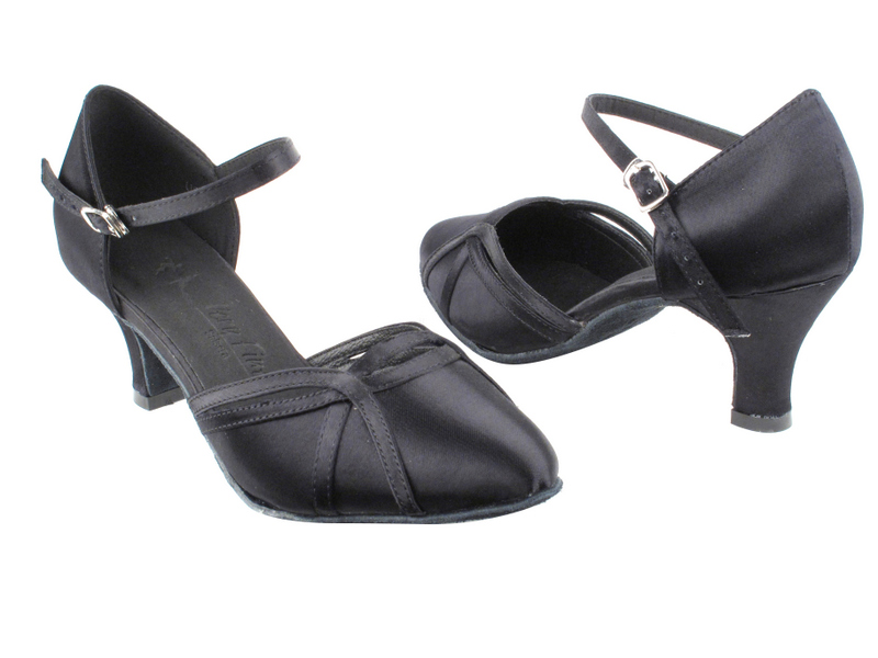 SERA3540 Black Satin with 2.5