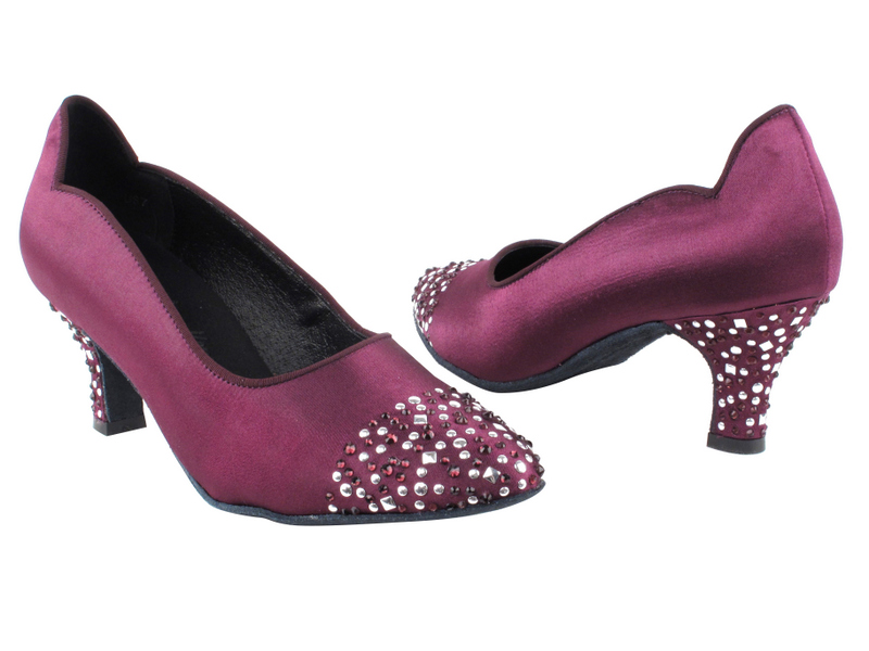 SERA5501 Purple Satin with 2.5