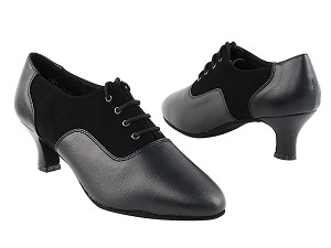 "C1688 Black Nubuck_ Black  with 2"" Slim Heel in the photo"