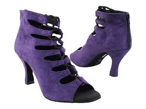 "VFBoot Latin 3304 Purple Suede with 3"" Heel (6812) in the photo"