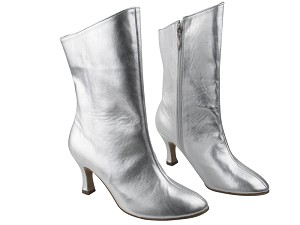 VFBoot PP205A Ankle Boot Silver Leather
