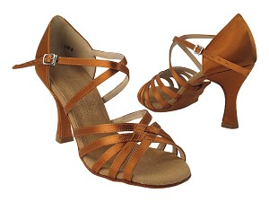 S9216 Copper Tan Satin