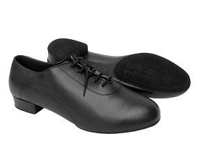 "S309 Black Leather with 1"" heel in the photo"