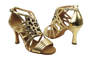 "SERA7016 Gold with 3"" heel in the photo"