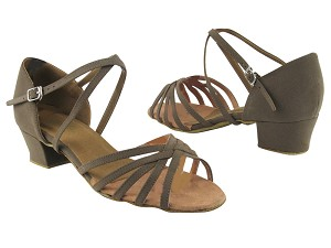"1670C 134 Brown Nubuck with 1.5"" medium heel in the photo"