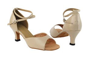 "6012 60 Tan PU with 2.5"" Heel in the photo"