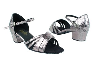 "6030 208 Ultra Grey with 1.5"" Medium Heel in the photo"
