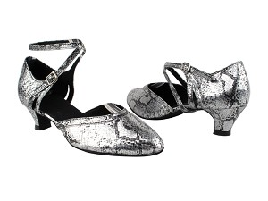 "9621 250 Silver Snake_1657 BackStrap with 1.3"" Heel in the photo"
