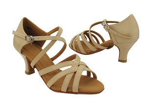 "C1606 231 Tan Leather with 2.5"" Heel (2040) in the photo"