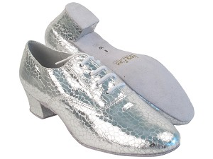 "915108 205 Ultra Silver with 1.5"" Latin Heel in the photo"