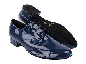 "916103 297 Dark Blue Patent with 1"" Standard Heel in the photo"