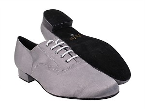 "919101 263 Grey Satin with 1"" Standard Heel (2002) in the photo"