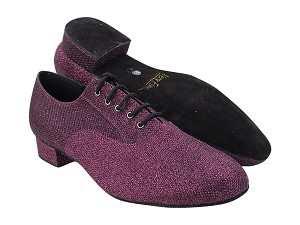 "919101 274 Purple Glitter with 1"" Standard Heel (2002) in the photo"